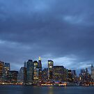 Manhattan before the storm by tintinvb