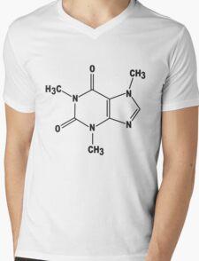 Caffeine Mens V-Neck T-Shirt