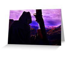 Mystical Traveler Fine Art Print Greeting Card