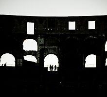 Colosseum Silhouette by AriseShine
