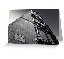 Colosseum Wall Greeting Card