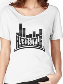 Hardstyle T-Shirt - Black Women's Relaxed Fit T-Shirt