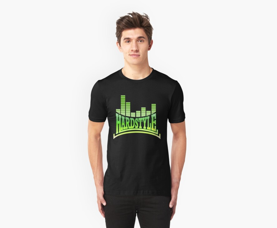 Hardstyle T-Shirt - Green by Coreper