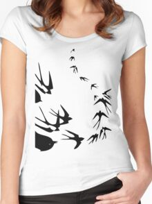 on the Wing Women's Fitted Scoop T-Shirt
