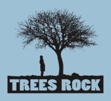 Trees rock by TeeArt