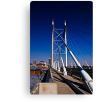 Nelson Mandela Bridge & Walkway Canvas Print