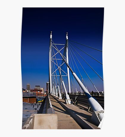 Nelson Mandela Bridge & Walkway Poster