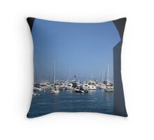 Arch with a View Throw Pillow