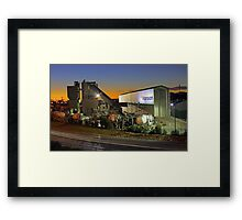 Hanson Concrete Plant - East Perth  Framed Print