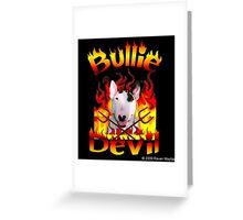 Bullie Devil Greeting Card