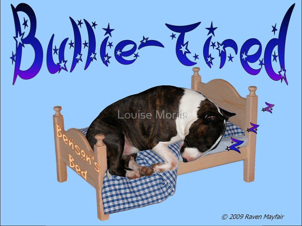 Bullie Tired by Louise Morris
