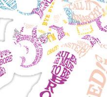 Jinx Typography Sticker