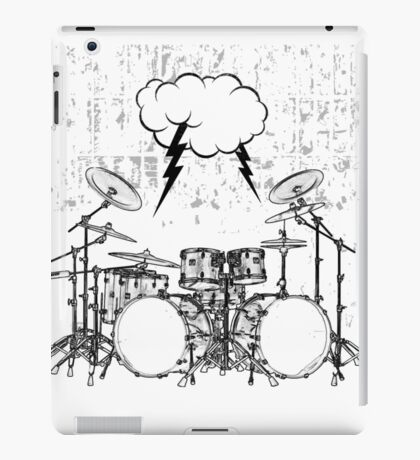 Drums #3 iPad Case/Skin