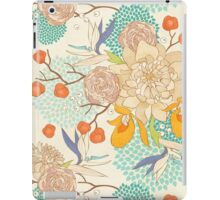 Peony Flower Pattern iPad Case/Skin