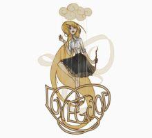 Luna Lovegood: Madness is Golden Kids Tee