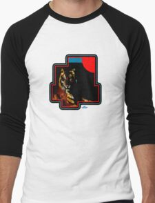 Tiger with Red Sun Men's Baseball ¾ T-Shirt