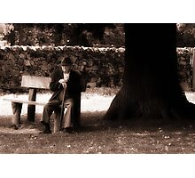 To Sit & Wait Photographic Print