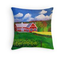 Philip Carter Winery Throw Pillow