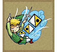 Zelda Wind Waker Wind's Requiem  Photographic Print