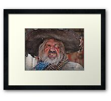 Tombstone Bandito Framed Print