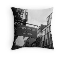 Lobel Gallery Throw Pillow