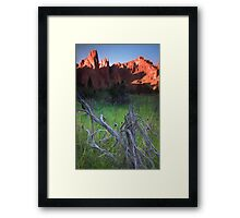 Smith Rock II Framed Print