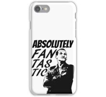 """Absolutely Fantastic."" -9th Doctor iPhone Case/Skin"
