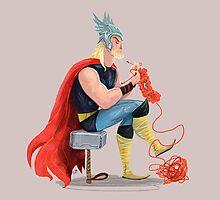 Skills (Thor) by Karl James Mountford