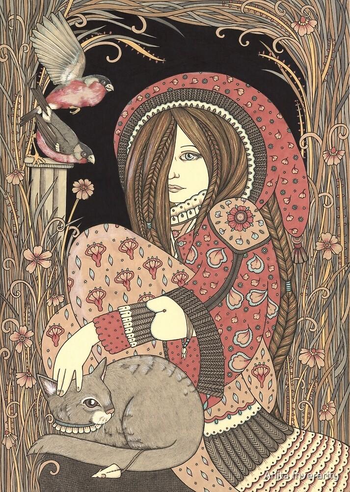 Flora's Garden by Anita Inverarity
