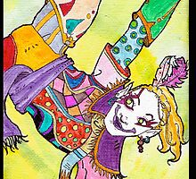 Kefka - Dancing Colorful by cinthdegree