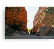 Simpsons Gap, Northern Territory Australia Metal Print