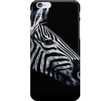 Zebra Portrait Fine Art Print iPhone Case/Skin