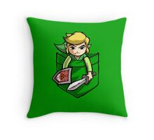 Pocket Link Legend of Zelda T-shirt Throw Pillow