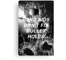 Taylor Swift Bad Blood Lyrics Canvas Print