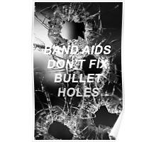 Taylor Swift Bad Blood Lyrics Poster