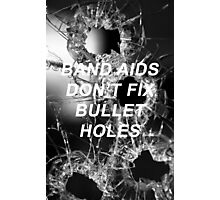 Taylor Swift Bad Blood Lyrics Photographic Print