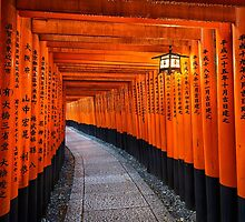 Fushimi Inari shrine in Kyoto, Japan by Michael Abid