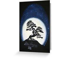Banzai Night Greeting Card