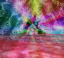 Abstracted Psychedelica by Sazzart