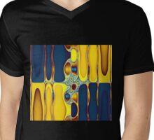 Synthesized Synchronicity Mens V-Neck T-Shirt