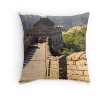 Great Wall of China - Mutianyu Section Throw Pillow