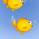 """Goldfish """"Oops!"""" by graphicdoodles"""