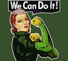 Rogue the Riveter by RaytheWicked