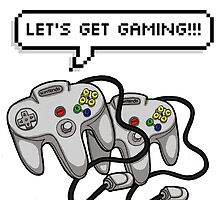 Let's get Gaming! by Jazmine Phillips
