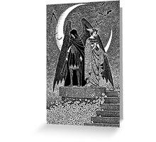 Thanatos and Hypnos Greeting Card