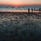Gathering at Sunset by Chris  O'Mara