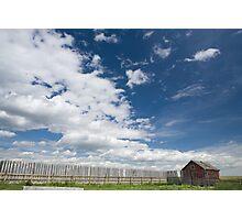 Big Alberta Prairie Sky Photographic Print