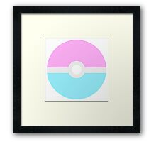 Ditto Used TRANSform Framed Print