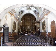 Mission of San Xavier del Bac Photographic Print