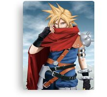 Cloud Strife - Heroes of final fantasy 7 Canvas Print
